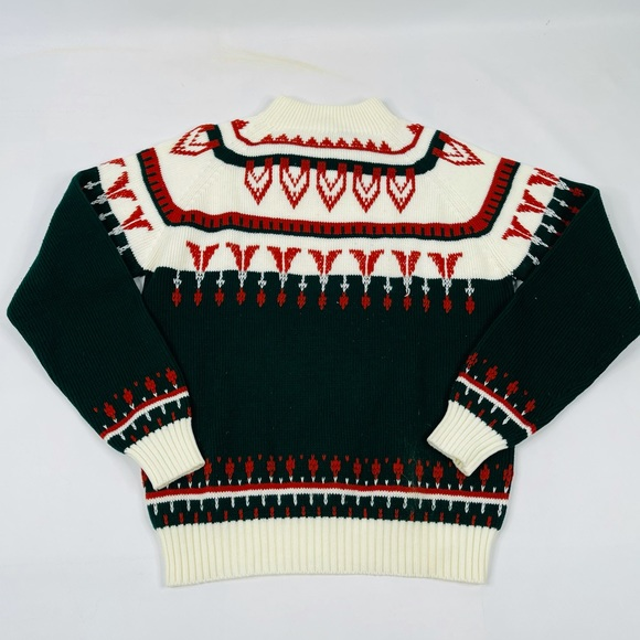 70s Aztec Abstract Hippy Sweater